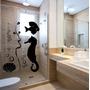 Adesivo Decorativo Banheiro Box Parede Cavalo Marinho