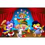Painel 2.00x1.00 Decoração Festa Infantil Circo