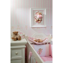 Conjunto Decorativo: 2 Papel De Parede + 1 Faixa Bambinos