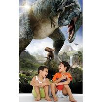 Papel De Parede Dinossauro Adesivo Quarto Infantil Zoo Md03