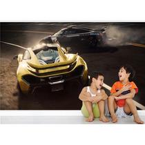Adesivo Papel Parede Quarto Menino Carros Need For Speed M3