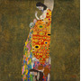 Poster Para Quadro Gustav Klimt 90x91cm Obra De Arte Hope 2