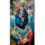 Poster Grande Domenikos Theotokopoulos 90cmx166cm Madonna Ch