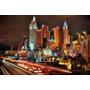Quadro Decorativo Panoramico Las Vegas, Sala Quarto 60x40