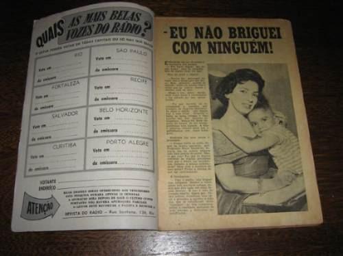 Revista Do Rádio Nº 528 Outubro /1959 Capa: Norma Benguel