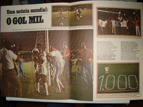 Revista - Manchete 07/1971 - Vida E Glória De Pelé