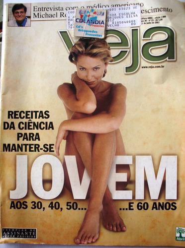 Revista Veja 1806 11 Junho 2003- Manter-se Jovem- Cdlandia