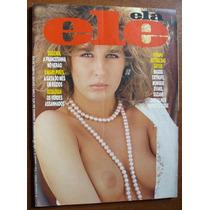 Revista Ele Ela Erótica Sex Antiga Anos 80 Com Poster