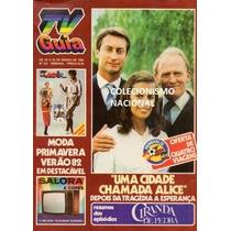 Tv Guia 1982 Rock Hudson Lygia Fagundes Telles Eva Wilma