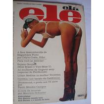 Ele Ela Nº 102 Out 1977 Rejane Goulart Miss Brasil