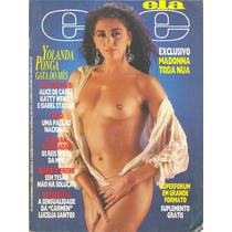 Ele Ela - 1987 - Ponga / Madonna / Carli / Stasiak / Poster