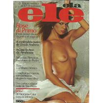 Revista Ele Ela Rose Di Primo N° 120