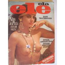 Revista Ele Ela 211 Jan 87 Nidia De Paula Cristina Azul Buzi