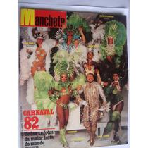 Revista Manchete 1560 Mar 82 Carnaval Baile Panteras Pelé
