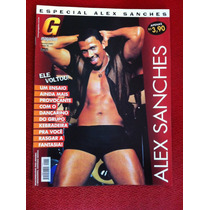 Revista G Magazine Especial Alex Sanches Cor Pecado Homem