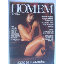 Revista Homem 12 Jun 87 Marly Mendes A Mais Desejada Rita Le
