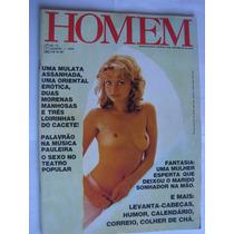 Revista Homem 12 Ago 79 Mulata Oriental Morenas Loirinhas