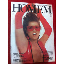 Revista Homem Carla Simone Perla Brooke Shields Mariza Carla