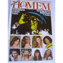 Revista Homem 27-b 1980 Chacretes Mostram Tudo Rita Cadillac