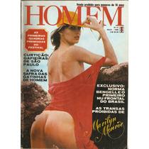 Revista Homem Nº 21 Maio-1980 - Marilyn Monroe - Com Poster