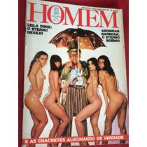 Revista Playboy Homem 80 Rita Cadilac Fátima Leda Z Leila