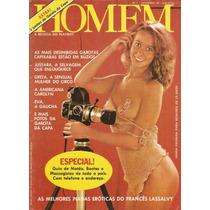 Revista Homem - 1978 A Revista Do Playboy Nº1 (banca)