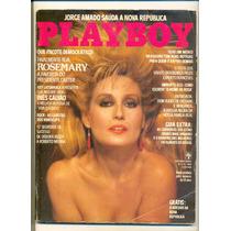*sll* Revista Playboy N. 116 - Rosemary - Março 1985