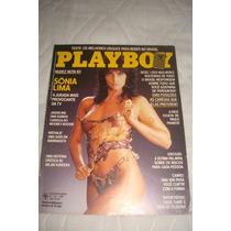 Playboy Sonia Lima A Jurada Mais Sexy Da Tv Em Otimo Estad