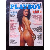 Revista Playboy Nani Venancio Edicao Colecionador Maravilhos