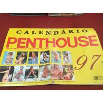 Revista Playboy Penthouse Calendário Especial Mulheres Gatas