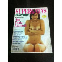 Playboy Poster Especialsuoer Gatas E Ana Paula Em Otimo Esta