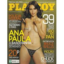 Playboy # 386 -ana Paula Oliveira -usada - Bonellihq Cx 50