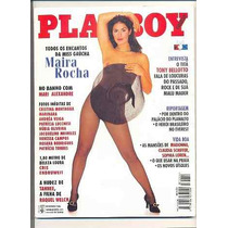 Playboy 244- Novembro 1995- Maira Rocha- Tony Berlotto Titãs