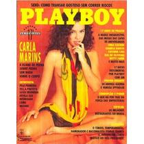 Revista Playboy Carla Marins + Poster Andrea Guerra 1992