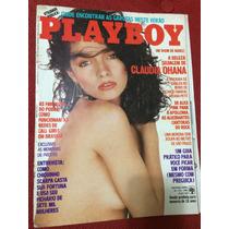 Revista Playboy 85 Claudia Ohana Suzana P Tricia Poster Gata