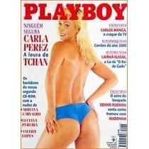 Playboy Carla Perez 1996 - Com Pôster