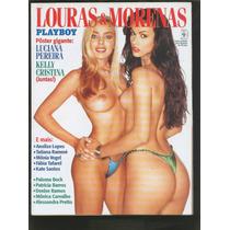 Playboy Ed Especial Loiras E Morenas Em Otimo Estado Lind