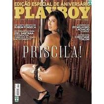 Playboy Priscila Pires Do Bbb - Agosto 2009 - Nova Lacrada