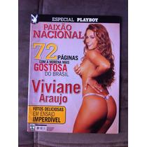 Playboy Especial Viviane Araujo Rainha Do Bumbum Revi Zerada