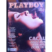 Playboy Cacau Do Bbb Segunda Capa Alternativa Rara Lacrada