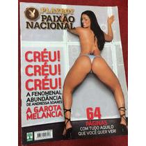 Revista Playboy Especial Andressa Soares Mulher Melancia Gat