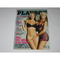 Playboy - Helô E Ticiane Pinheiro - Abril-2003 - Nº333