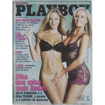 Revista Playboy Helô Pinheiro E A Filha Taciane - Abril 2003