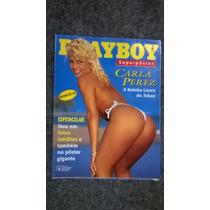 Playboy Carla Perez - Superpôster - N°258 A