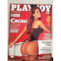 Revista Playboy Cacau #419 C/ Pôster