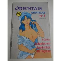 Revista Em Quadrinhos Orientais Eroticas N° 1