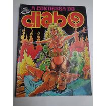 Revista Em Quadrinhos Eroticos A Condessa Do Diabo