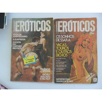 Quadrinhos Erótico! Vários!grafipar 1978 E 1983! Brasileiros
