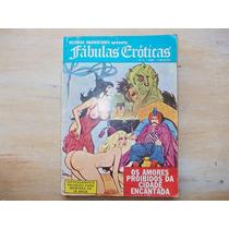 Revista Quadrinhos Fábulas Eróticas - Nº 3 - Preto E Branco
