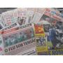 Lote Com 18 Jornais Futebol Jogo Extra Ano 2000 Muito Barato